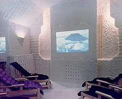 First salt room built by Aeromed Ltd. in Leningrad (USSR) in 1991